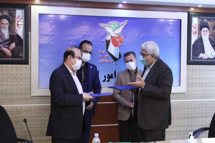 تفاهمنامه همکاری بنیاد شهید و امور ایثارگران و مجتمع فنی تهران به امضا رسید