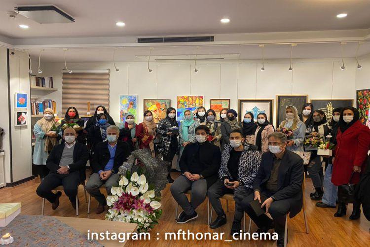 برگزاری دومین نمایشگاه گروهی هنرجویان گرایش نقاشی مجتمع فنی تهران، سعادت آباد