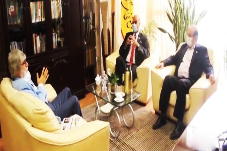 گفتگوی دکترسعادت مدیرعامل مجتمع فنی تهران با خبرگزاری آسیا نیوز(ایرج جمشیدی)