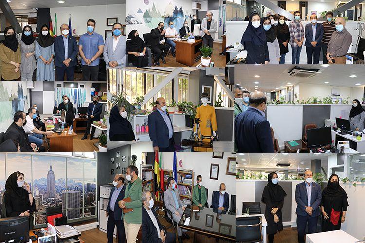 بازدید دکتر سعادت از کلیه دپارتمانهای  آموزشی مجتمع فنی تهران 12 خردادماه 1400