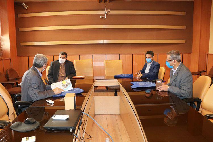 جلسه مشترک مجتمع فنی تهران با شرکت حفاری شمال