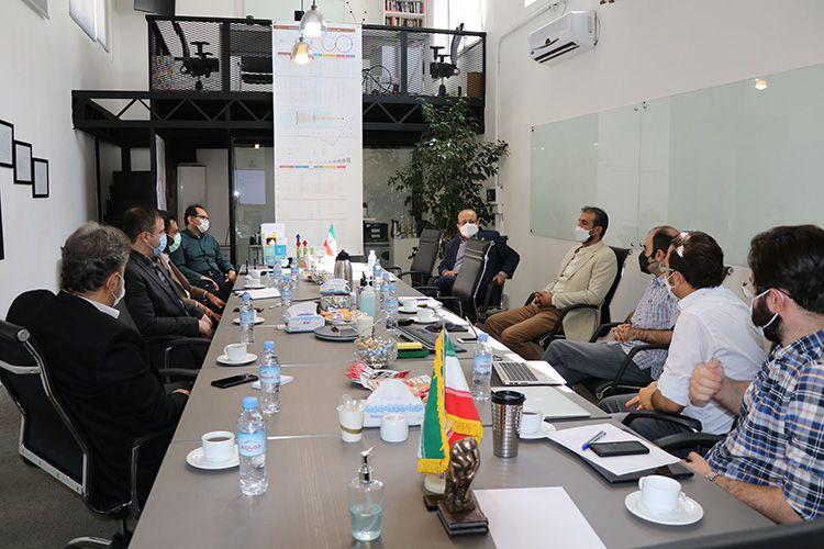 بازدید مدیرعامل و مدیران مجتمع فنی تهران از هم آوا و کارخانه نوآوری آزادی(2تیرماه1400)